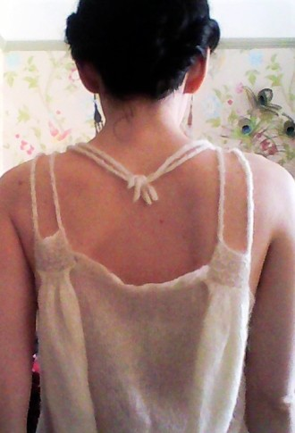 Back beading and straps