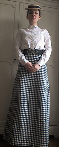Edwardian Miss Winter The Assassination Bureau cosplay front
