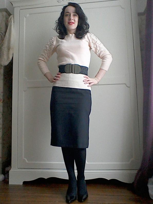 Secretary look