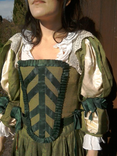 Costume bodice