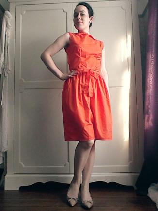 Audrey Hepburn style dress