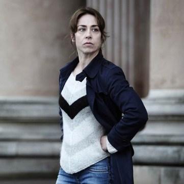 Chevron Forbrydelsen jumper Sofie Gråbøl Sarah Lund The Killing series 3