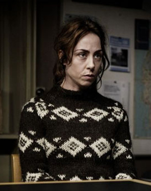 Black diamond Forbrydelsen jumper Sofie Gråbøl Sarah Lund The Killing series 2