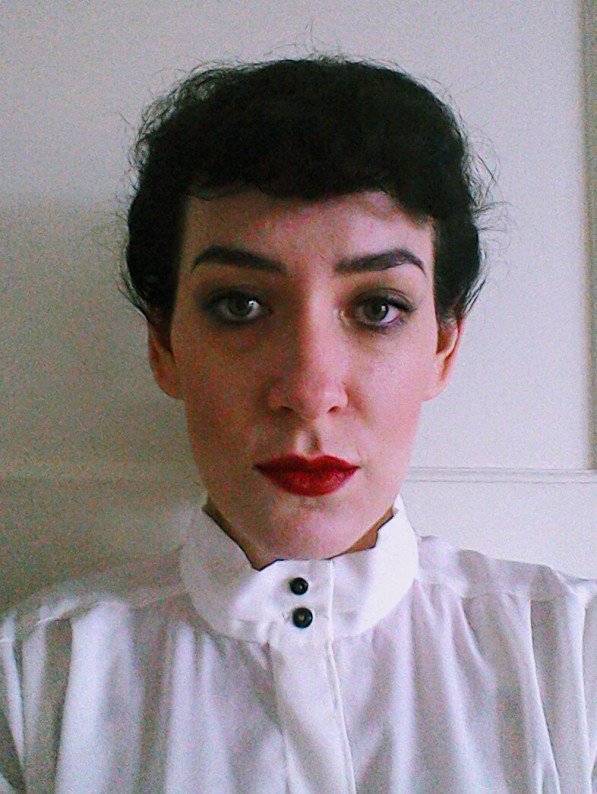 attempt at Rachael's make-up Bladerunner Forties