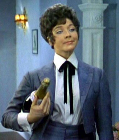 Tara King Southern style tuxedo The Avengers Sixties woman's suit