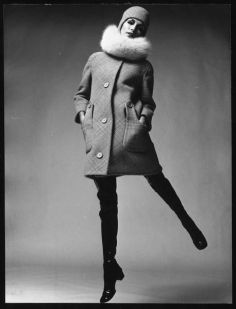 Pierre Cardin Sixties thigh high boots fashion
