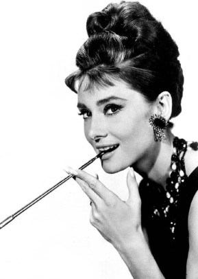 Audrey Hepburn earrings