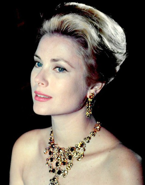 Gracekelly Necklace Statementnecklace Earrings Hairstyles
