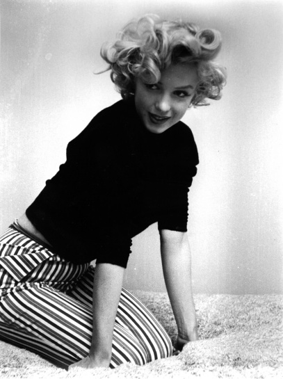Marilyn striped pants
