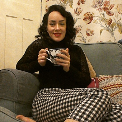 Marilyn gingham check trousers - the girl loves Vintage