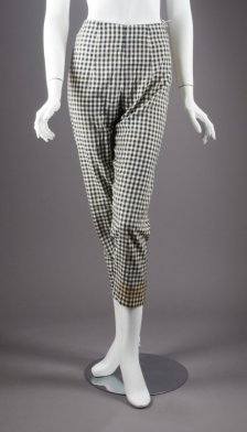 Marilyn Monroe gingham pants