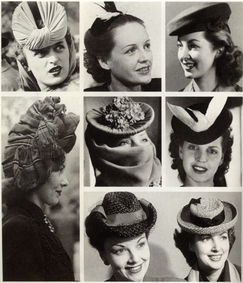 Forties hats