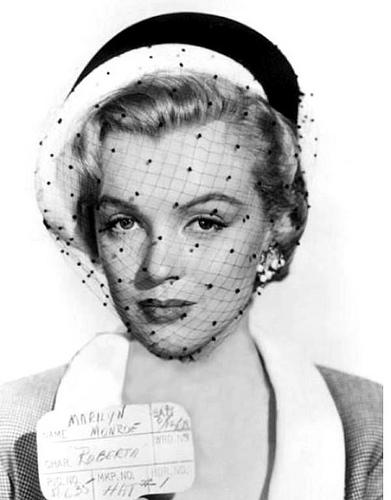 Marilyn Monroe hat test in 'Love Nest'