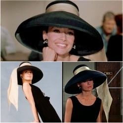 Audrey Hepburn Holly Golighty hat 'Breakfast at Tiffany's'