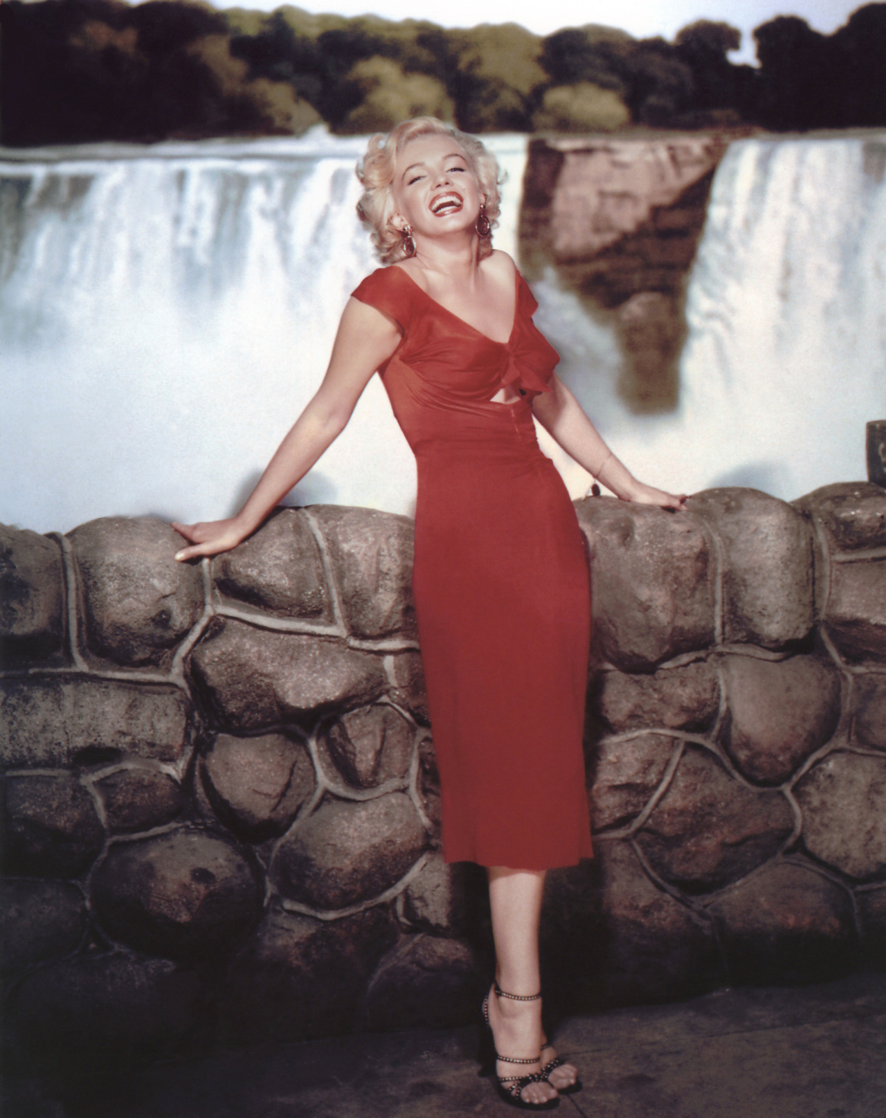Marilyn Monroe Niagara dress