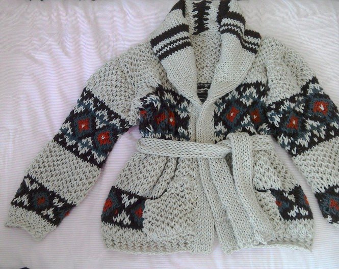 My Marilyn chunky knit cardigan