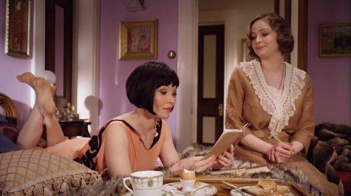 Miss Fisher's Murder Mysteries Twenties lounge wear pyjamas 1920's fashion style
