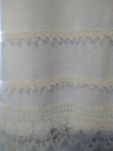 Rowan Kidsilk Haze knitted lace